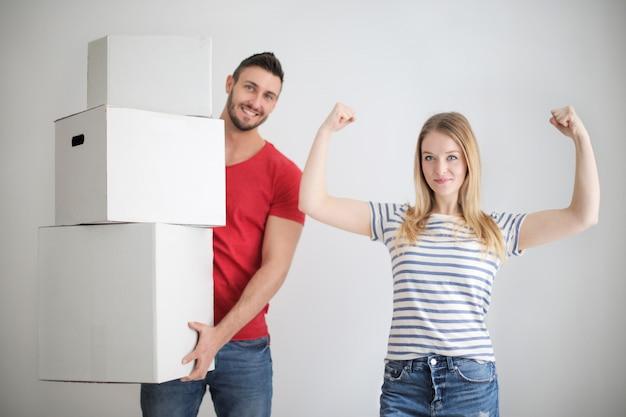 Emménager dans une nouvelle maison