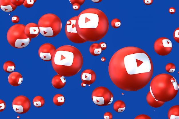 Emojis de réaction youtube