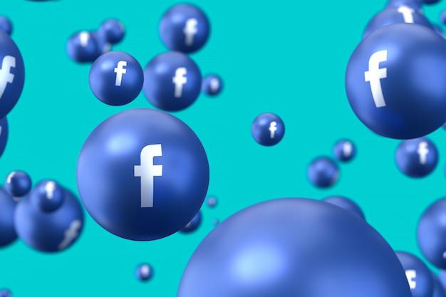 Emojis de réactions facebook