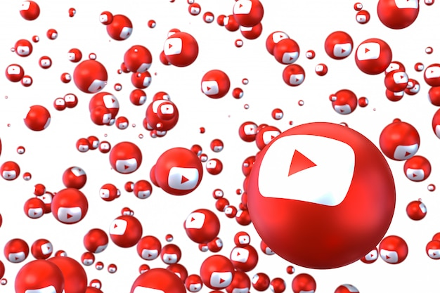 Emojis de réactions youtube