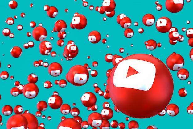 Emojis youtube flottant