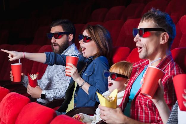 Les émotions des gens au cinéma