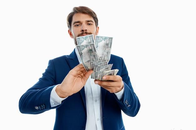 Émotions de studio d'économie d'investissements d'hommes d'affaires