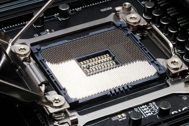 Emplacement pour cpu