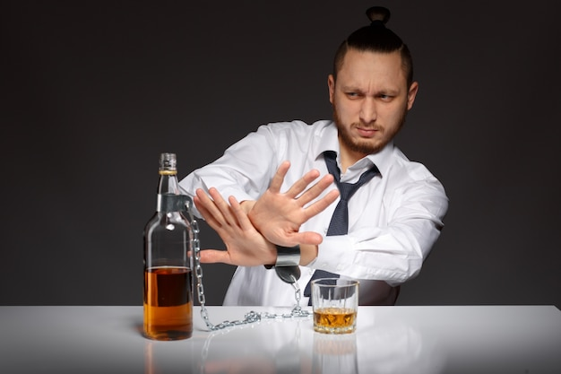 Employé alcool rejet