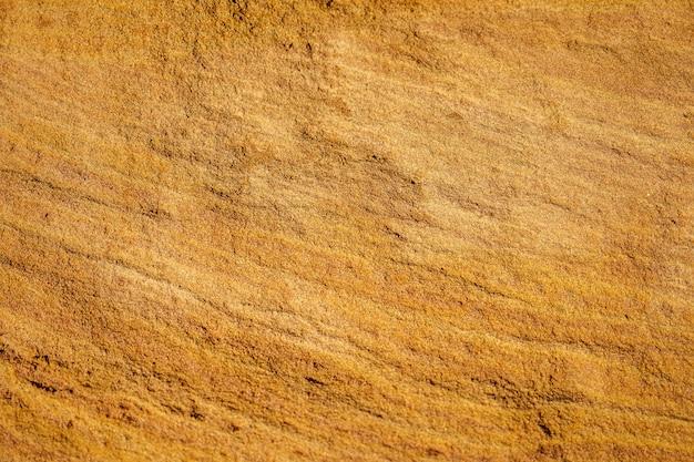 Empreinte à la surface de mars sable rouge