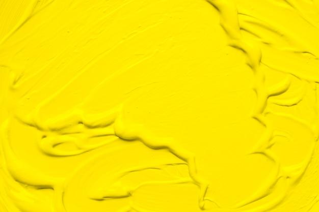Emulsion de peinture lisse jaune