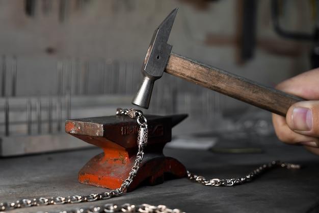 Enclume et marteau