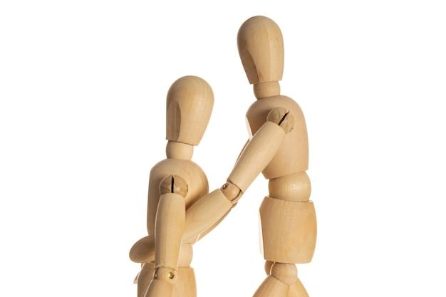 Encouragements personnels. assistance et soutien mutuels. coup de main. esprit d'équipe.