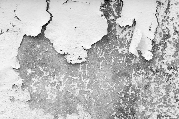 Encrassement de plâtre et de peinture, dégâts structurels, dégâts des eaux ou dégâts du gel