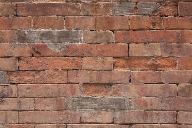 Endommagé mur de briques texture