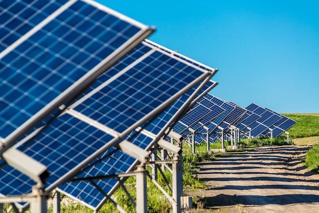 L'énergie du panneau solaire du soleil