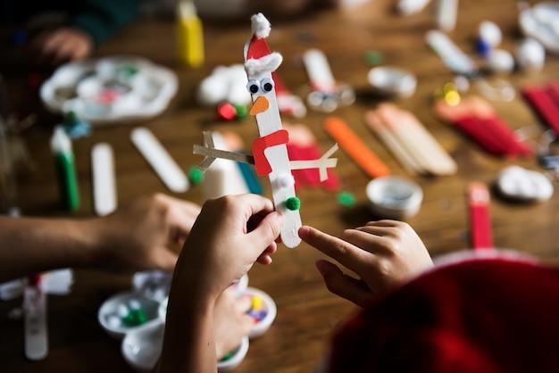 Enfants bricolage noël projets