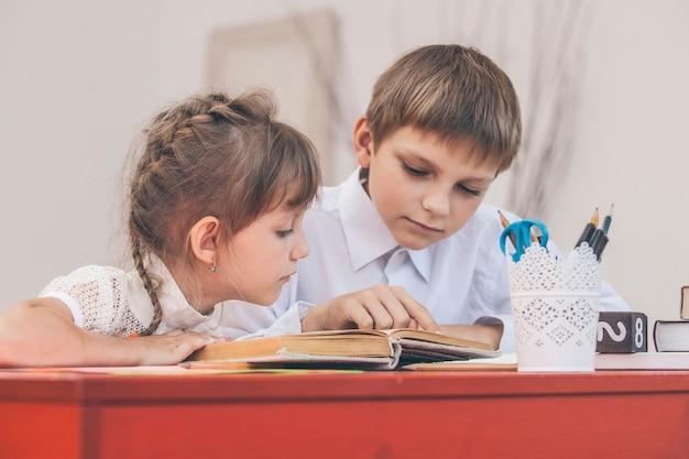 Les enfants à l'école