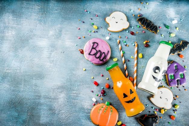Enfants traite pour halloween