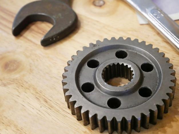 Engrenages en acier inoxydable avec clé
