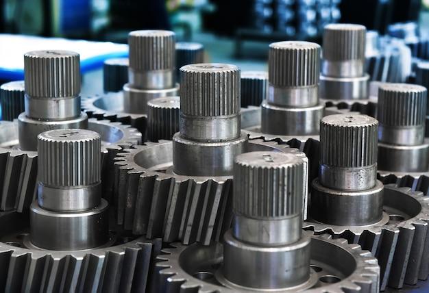 Engrenages en métal dans les usines
