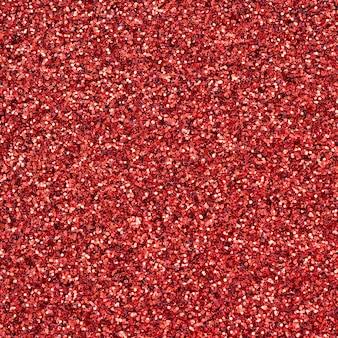 Une énorme quantité de paillettes décoratives rouges
