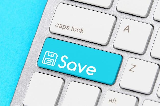 Enregistrer le concept sur le bouton du clavier