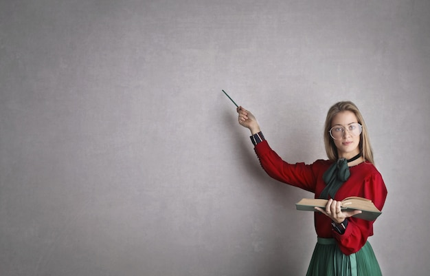Enseignant strict et sérieux
