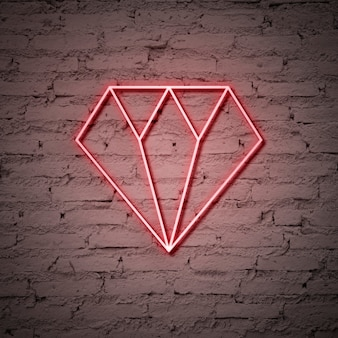 Enseigne au diamant