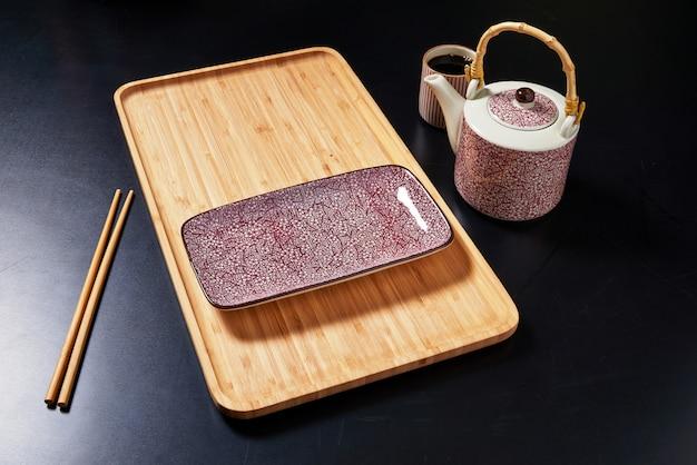 Ensemble d'assiettes de style japonais
