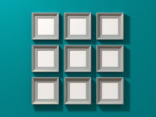 Ensemble de cadre carré
