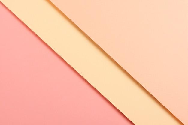 Ensemble de feuilles de carton pastel