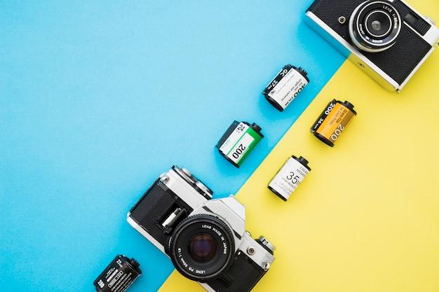 Ensemble de film et caméras