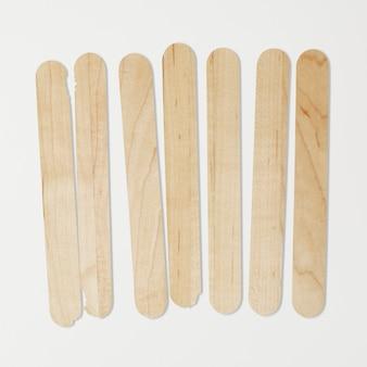 Ensemble de marqueurs de jardin en bois de popsicle
