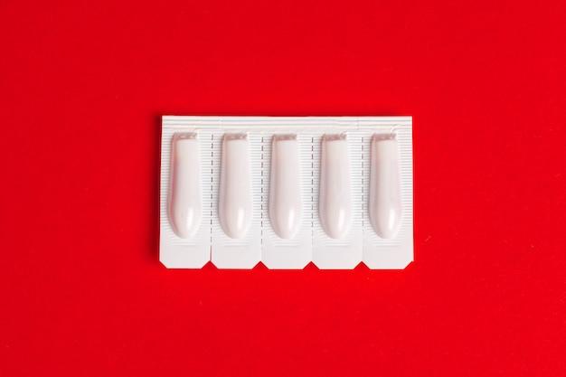 Ensemble médical de comprimés. pilules
