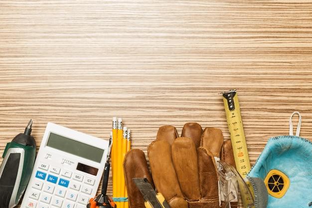 Ensemble d'outils d'architecte
