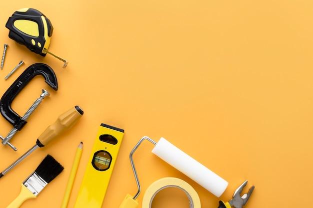 Ensemble d'outils avec espace copie
