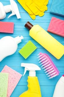 Ensemble d'outils de nettoyage détail