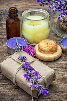 Ensemble de parfums pour traitements de spa