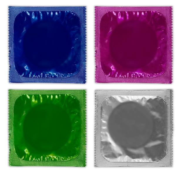 Ensemble de préservatifs