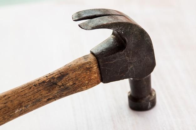 Ensemble de trois têtes de poignet en acier martelé