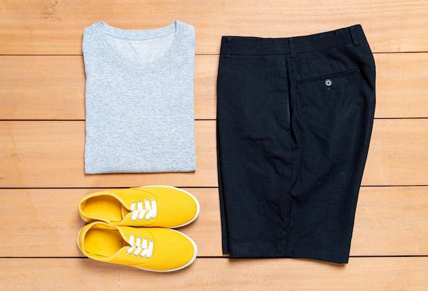 Ensemble de vêtements et de mode pour hommes décontractés