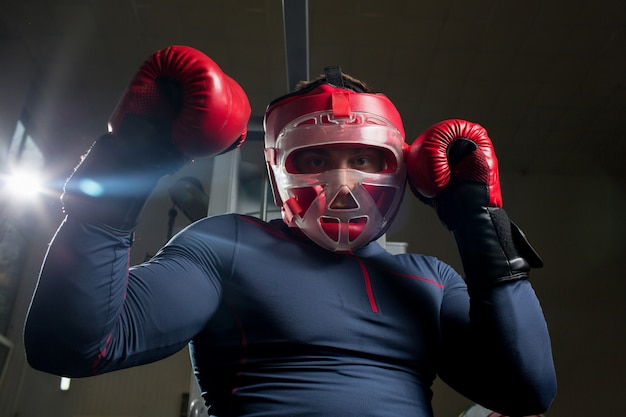 Entraînement de boxe