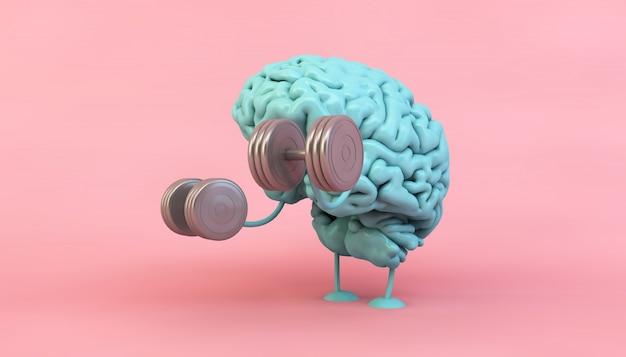 Entraînement du cerveau bleu