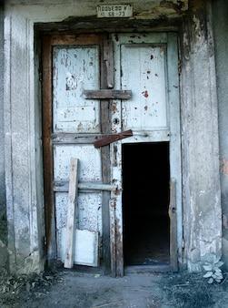 Entrée de la vieille maison