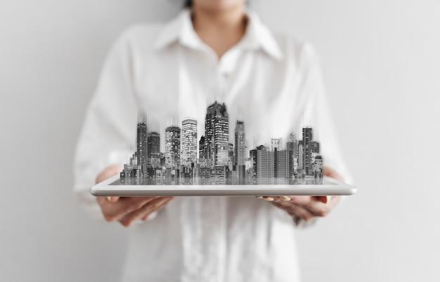 Entreprise immobilière et technologie du bâtiment