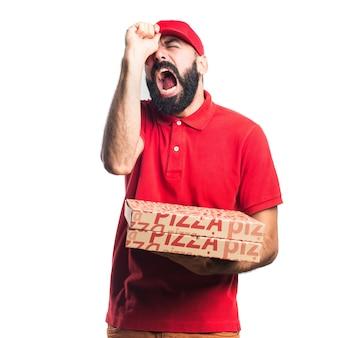 Entreprise de pizza frustrée
