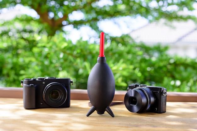 Entretien de l'appareil photo et des objectifs