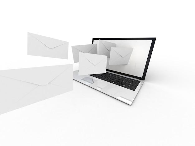 Enveloppes pour ordinateur portable et mouches