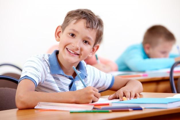 Environnement scolaire positif