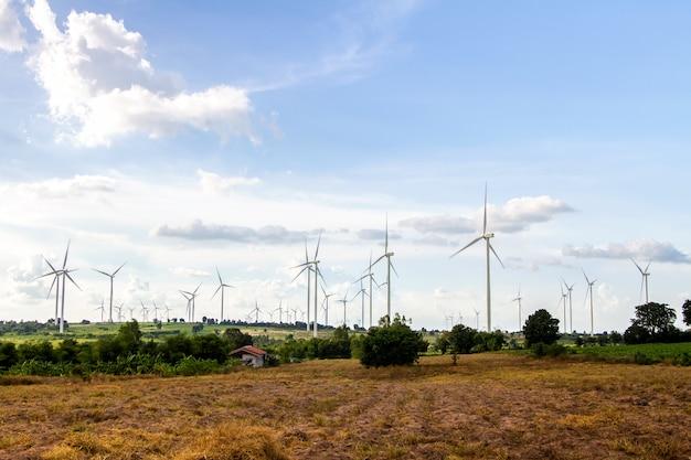 Éolienne, éolienne, unité d'énergie éolienne, convertisseur énergie éolienne