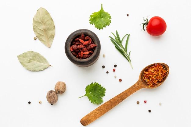 Épices et ingrédients
