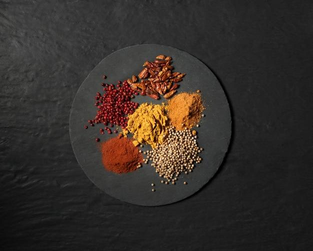 Épices en poudre
