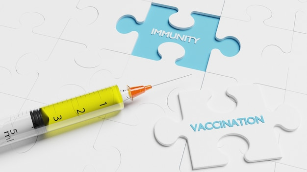 Épidémie de corona virus. concept de protection contre les virus épidémiques. rendu 3d